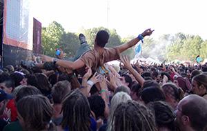 Feesten op het Sziget-festival