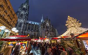 De gezellige Kerstmarkt Keulen