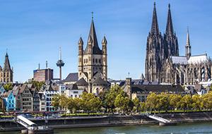 De middeleeuwse Altstadt Keulen