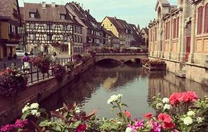 Het pittoreske Colmar in Frankrijk