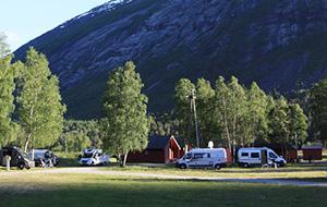 De ideale uitvalsbasis: Camping Jostedal