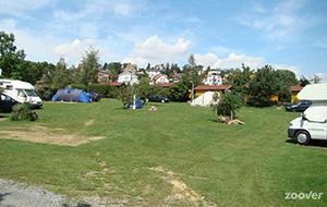 Camping Drusus tussen de fruitbomen