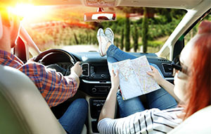Check 1: Controleer je wagen voor je autovakantie