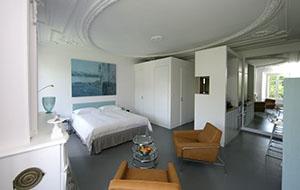 Luxe kamer bij Bed and Breakfast L'Hôtel Particulier
