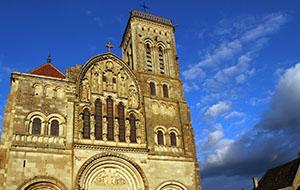 De kerk van Vézelay