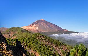 Tenerife: vulkanisch gebergte