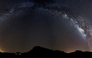 Sterren kijken op vulkaangebergte El Teide op Tenerife