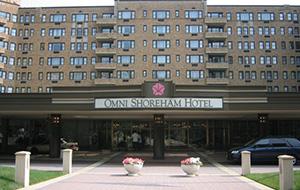 Het centrale Hotel Omni Shoreham
