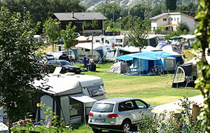 Camping Mühleye ligt vlakbij Visp