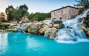 Een echt spa-dorpje: Bormio, Italië