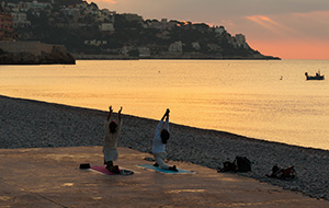 Yogaretraite in Frankrijk