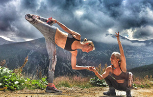 Yogafestival in het Bulgaarse Rilagebergte