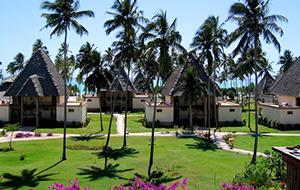 Heerlijk eten bij Hotel Neptune Pwani Beach