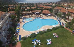 Dichtbij de Blue Lagoon ligt Hotel Turquoise