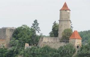 Historisch bouwwerk: Hrad Zvíkov