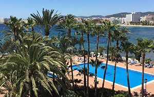 Samen relaxen op Ibiza