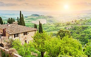 1. Nummer 1 bestemming, Toscane
