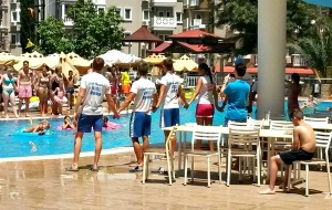 Hotel Club Paradiso: veel waterplezier en een miniclub