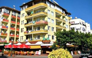 Appartement Havanna: aan het strand en op loopafstand van de haven en het centrum van Alanya