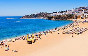 Het mooiste strand van Albufeira: Praia Da Oura