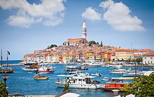 Het Kroatische schiereiland Istrië