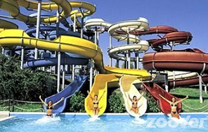 Afkoelen in Aqualand Del Vasto