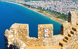 Vervlogen tijden: de ruïnes van Antalya