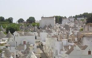 """4. Met zijn """"Trullies"""" is Alberobello net een sprookje"""