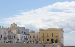 2. Mooi historisch Gallipoli, gelegen op een schiereiland