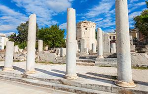 Wandelen langs de Oude Agora
