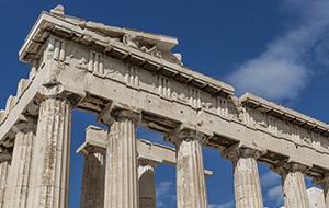 Bewonder het Parthenon