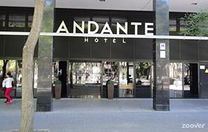 Centraal gelegen: Hotel Andante
