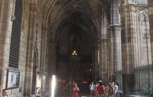 De kathedraal van Barcelona