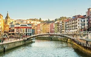 Modern maar ook historisch Bilbao