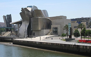 Het moderne Guggenheim museum