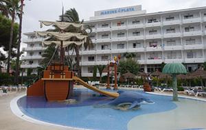 Mallorca: hotel Marins Playa