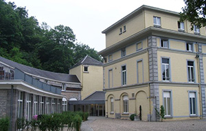 Hotel Castel de Pont a Lesse ligt in de natuur