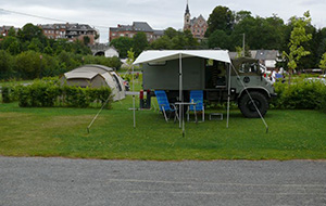 Camping Les Roches ligt centraal