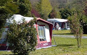 Actief op Camping Le Roptai