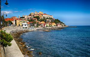 De stranden van Diano Marina