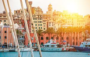De historische gebouwen van Genua