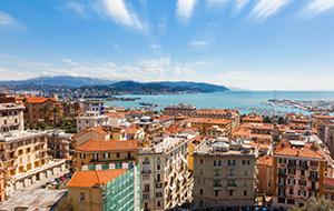 De jachthaven van La Spezia