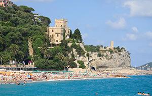 Relax op de stranden van Ligurië