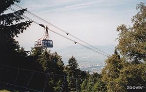 Kabelbaan naar Pfänderbahn