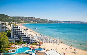 Het grote Iberostar Sunny Beach Resort