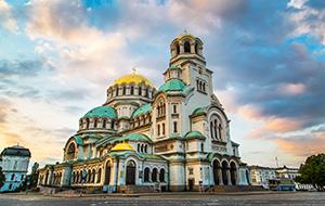 De hoofdstad Sofia