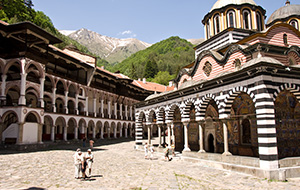 Het prachtige Rila klooster