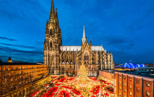 Kerstsferen in Nordrhein-Westfalen