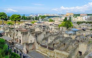 Terug naar de oudheid in Herculaneum