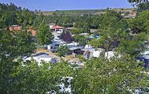 Camping La Viorna met zicht op de Picos